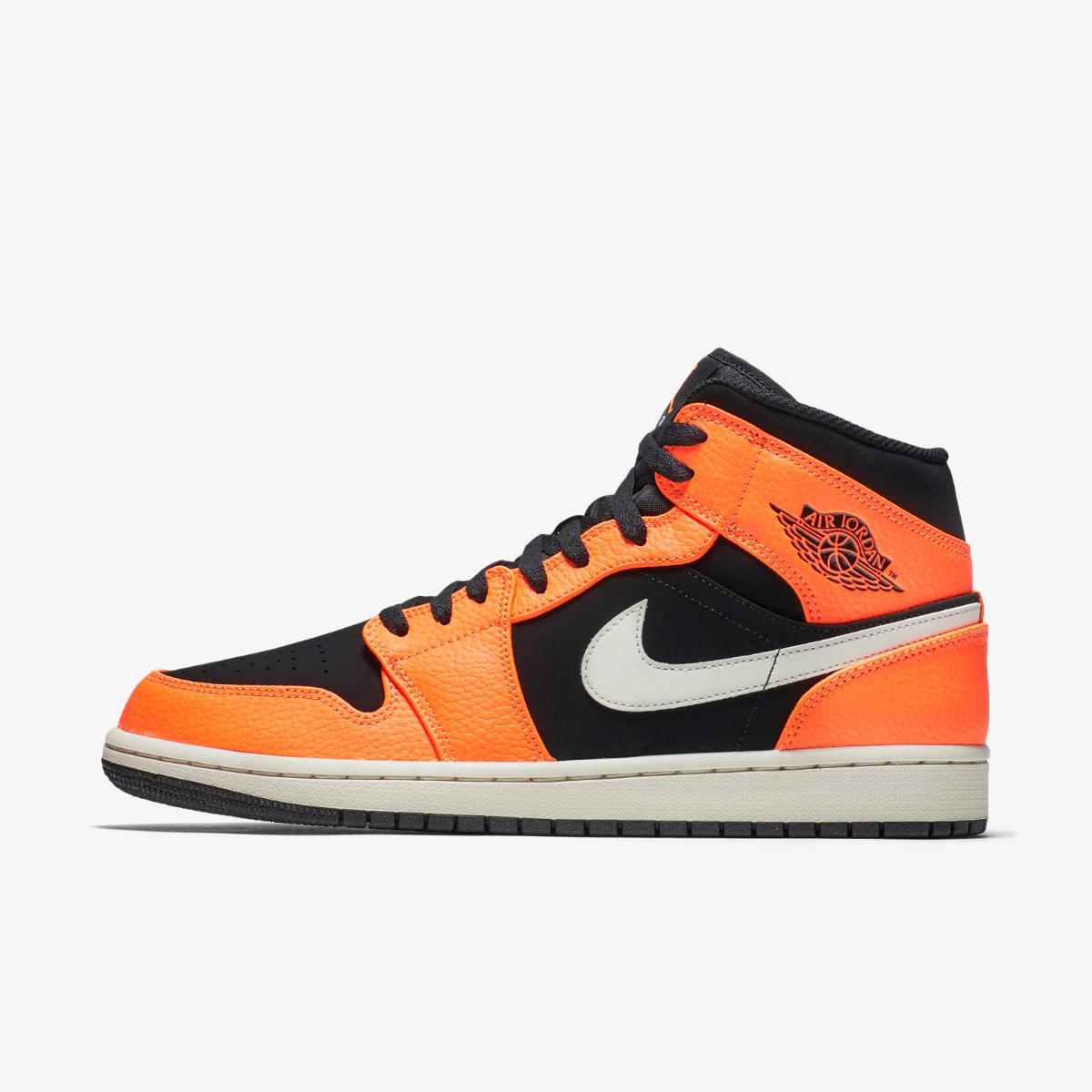 Кроссовки для баскетбола AIR JORDAN 1 MID 554724-062 купить ... 035bd1ff659