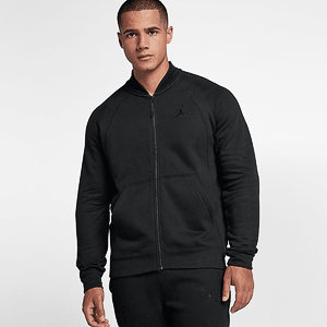 Толстовка AIR JORDAN SPORTSWEAR WINGS FLEECE BOMBER JACKET
