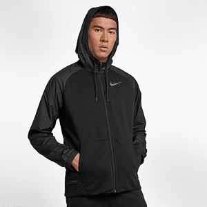 Толстовка Nike Training Utility Full Zip Hoodie In Black
