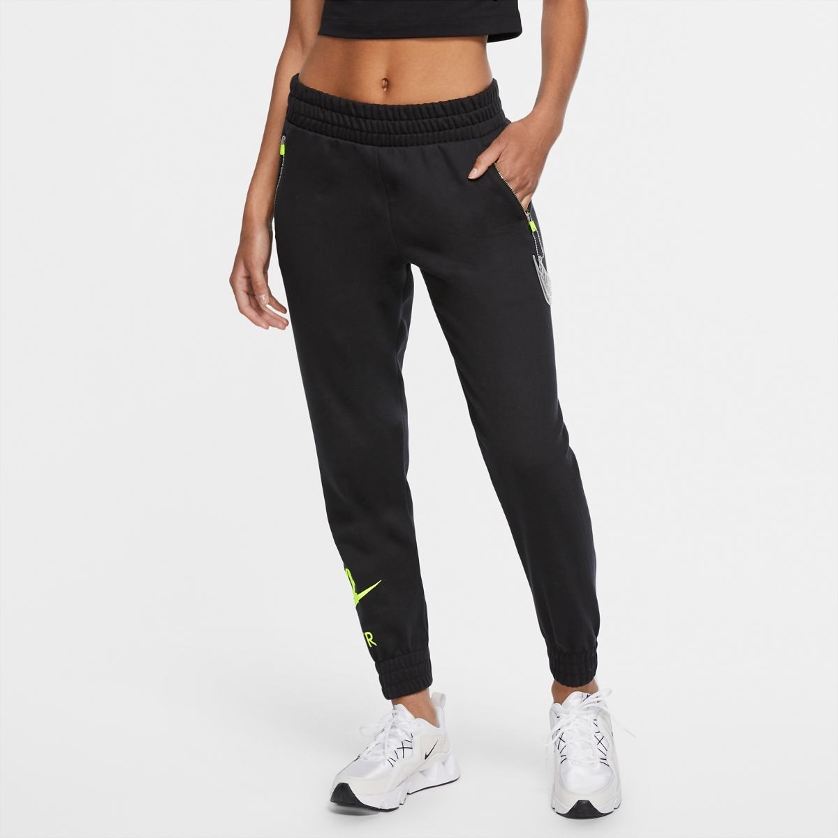Брюки NIKE W NSW AIR PANT 7/8 BB FLC