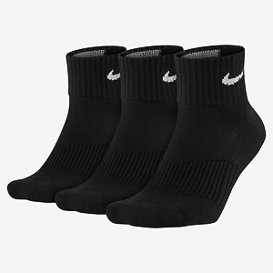 Носки Nike 3PPK CUSHION QUARTER (S,M,L,XL