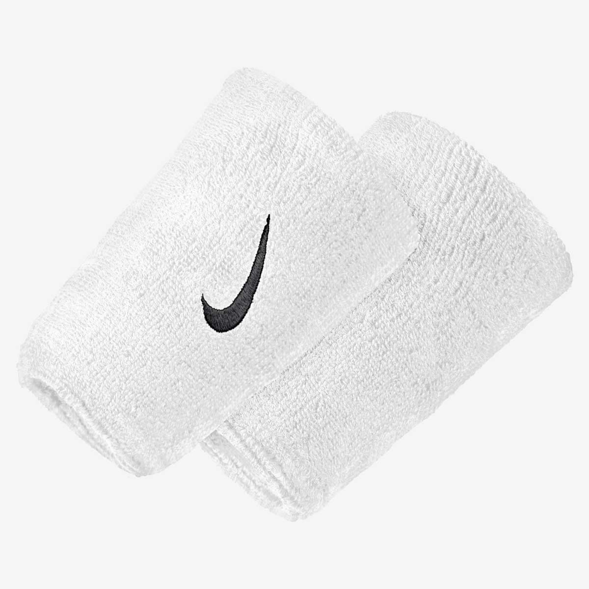Напульсник Nike SWOOSH DOUBLEWIDE WRISTBANDS WHITE/BLACK