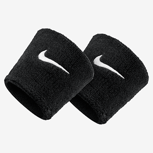 Напульсник Nike SWOOSH WRISTBANDS BLACK/WHITE