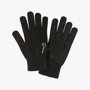 Перчатки NIKE KNITTED TECH AND GRIP GLOVES 2.0 BLACK/BLACK/WHITE S/M
