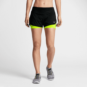 Шорты Nike W NK FLX 2IN1 SHORT RIVAL
