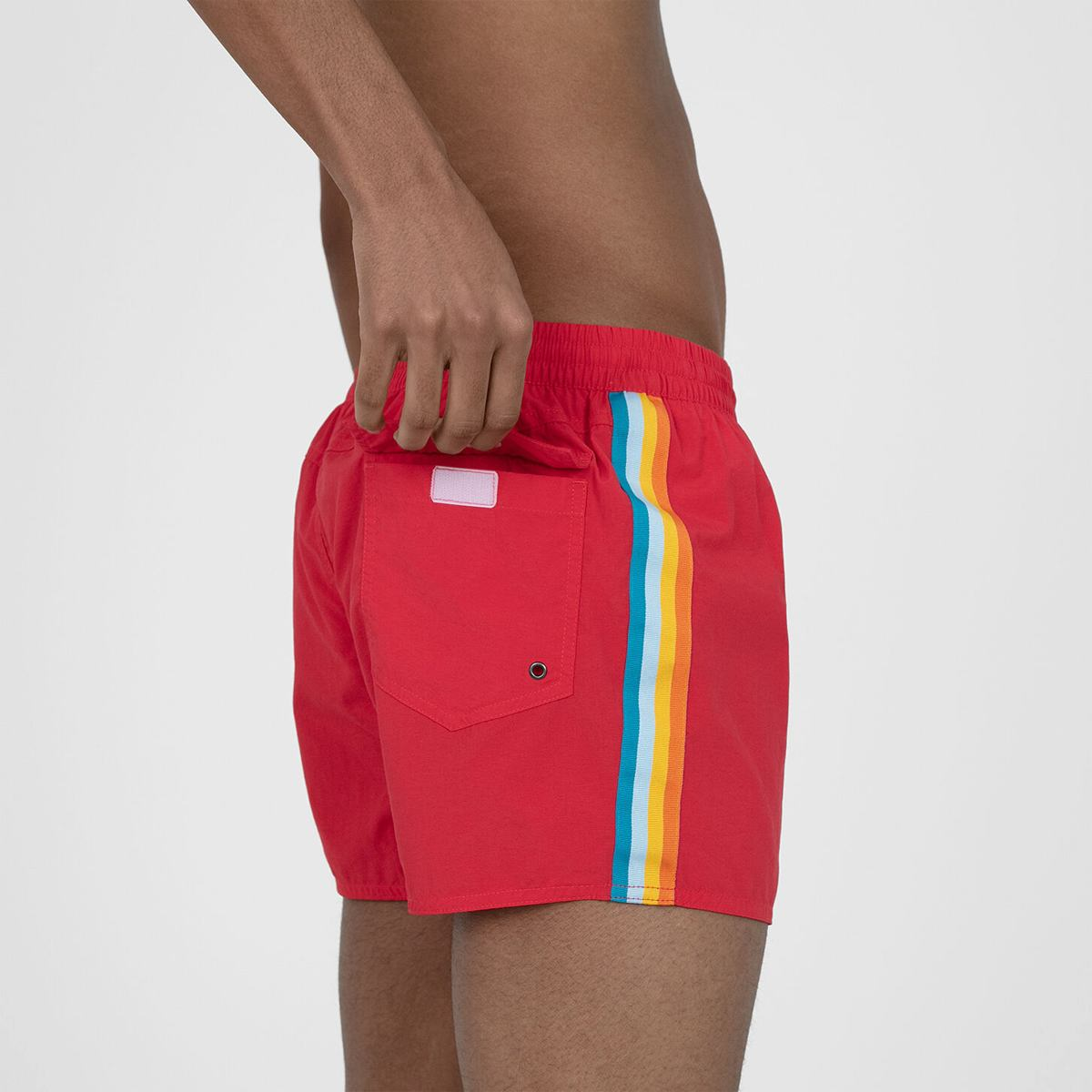 Шорты Speedo RETRO 13 WATERSHORT AM RED