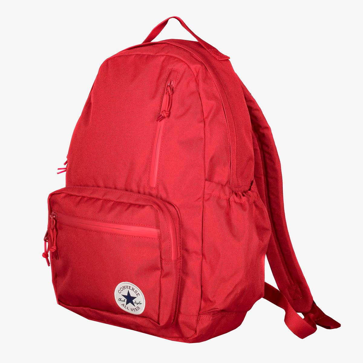 Рюкзак Converse GO BACKPACK ENAMEL RED/POMEGRANATE RED