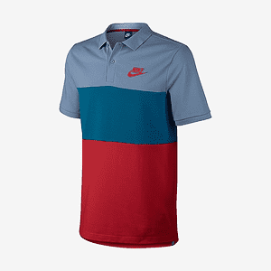 Поло Nike M NSW POLO PQ MATCHUP CLRBLK