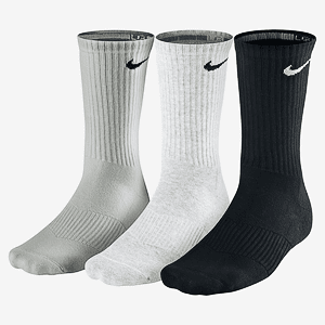 Носки Nike 3PPK CUSHION CREW (SMLXL)