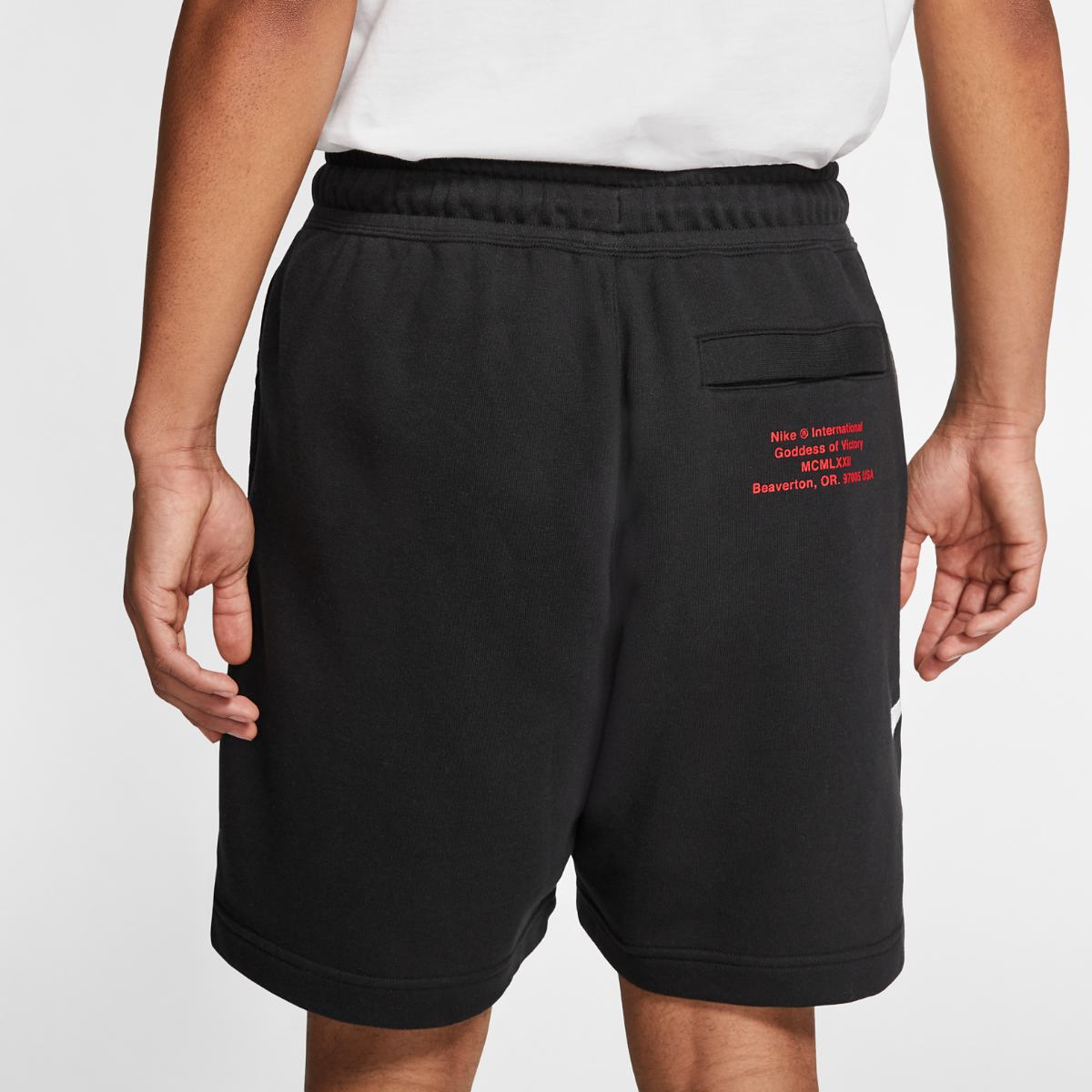 Шорты NIKE M NSW SWOOSH SHORT FT