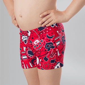 Плавки Speedo ESS ALV ASHT IM RED/NAVY