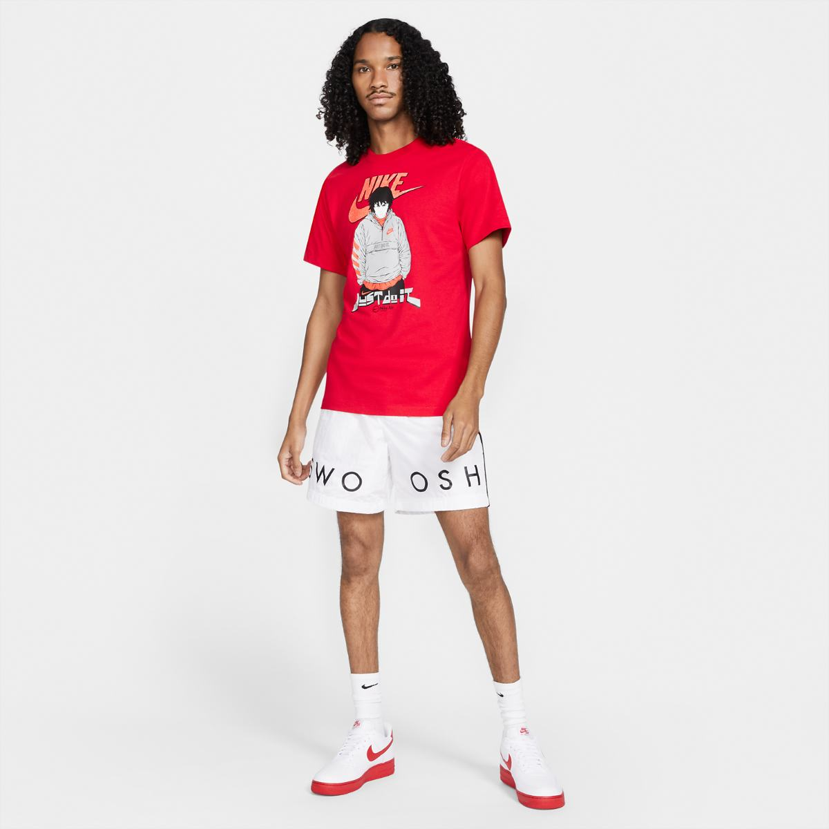 Футболка NIKE M NSW TEE AIR MANGA FUTURA MAN