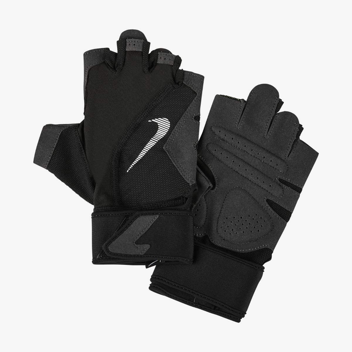 Перчатки для тренинга Nike MENS PREMIUM FITNESS GLOVES BLACK/VOLT/BLACK/WHITE L
