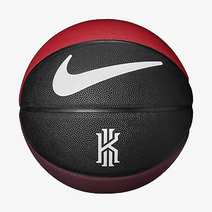Мяч баскетбольный NIKE KYRIE CROSSOVER BLACK/UNIVERSITY RED/BICYCLE YELLOW/WHITE 07