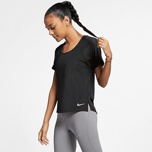 Футболка NIKE W NK MILER TOP SS BREATHE
