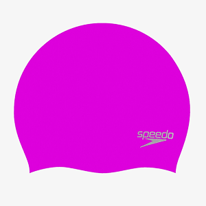 Шапочка Speedo MOULDED SILC CAP AU PURPLE/SILVER