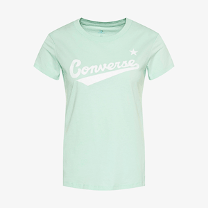 Футболка Converse CENTER FRONT LOGO TEE BARELY ROSE