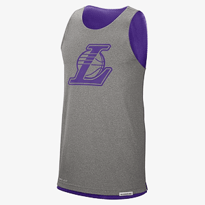 Майка NIKE LAL M NK STD ISSUE TANK CTS