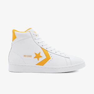 Кеды Converse PRO LEATHER MID WHITE/AMARILLO/WHITE