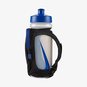 Бутылка Nike LARGE HANDHELD BOTTLE 22OZ BLACK/PARAMOUNT BLUE/SILVER