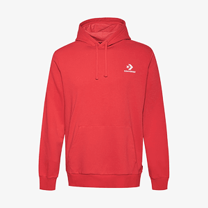 Толстовка Converse SC EMB PO HOODIE FT RED