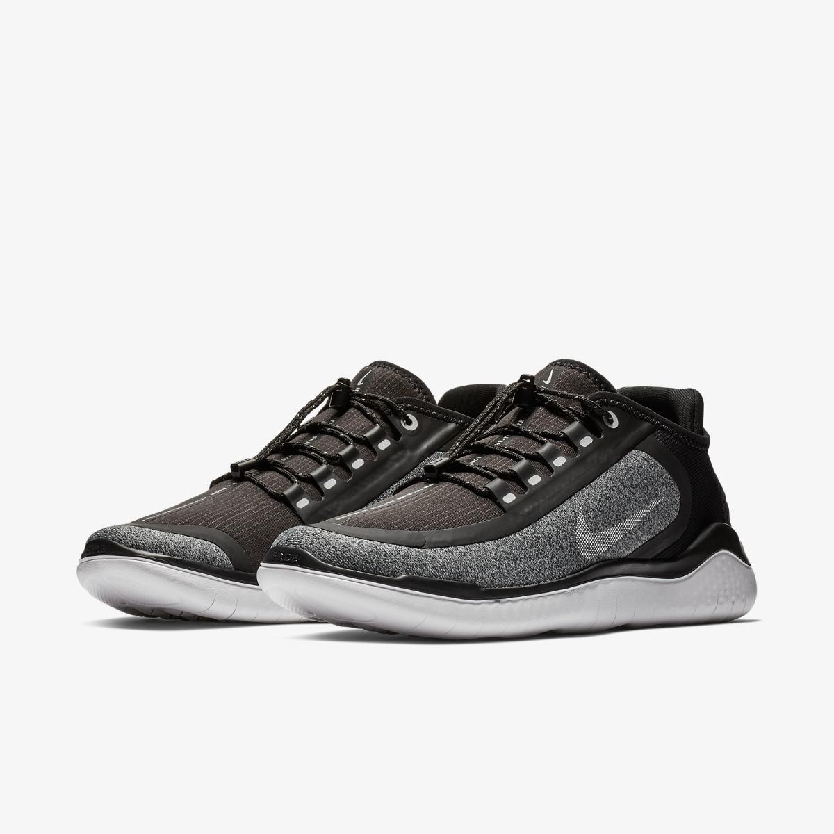 Nike Men/'s Free RN 2018 Shield Running Shoe AJ1977 001