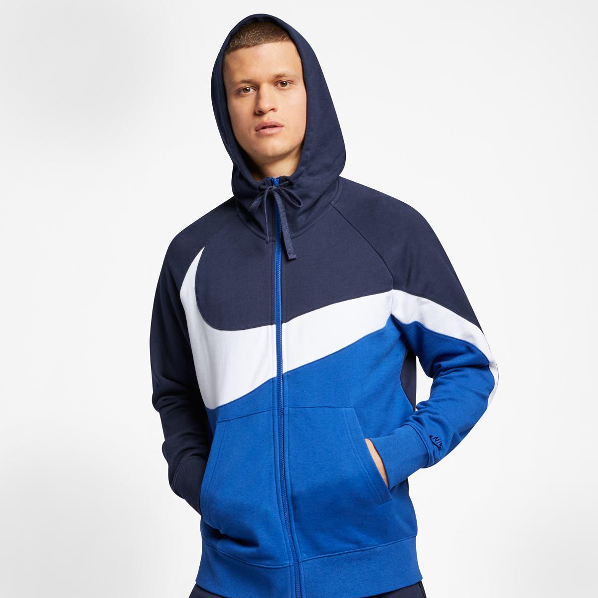 09a8a8b1d Толстовка Nike M NSW HBR HOODIE FZ FT STMT купить | deltasport.ua