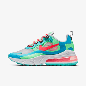 Кроссовки NIKE  Air Max 270 React Blue Lagoon