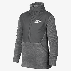 Толстовка NIKE B NSW WINTERIZED LS HZ