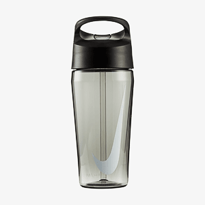 Бутылка NIKE TR HYPERCHARGE STRAW BOTTLE 16 OZ ANTHRACITE/ANTHRACITE/WHITE 16OZ