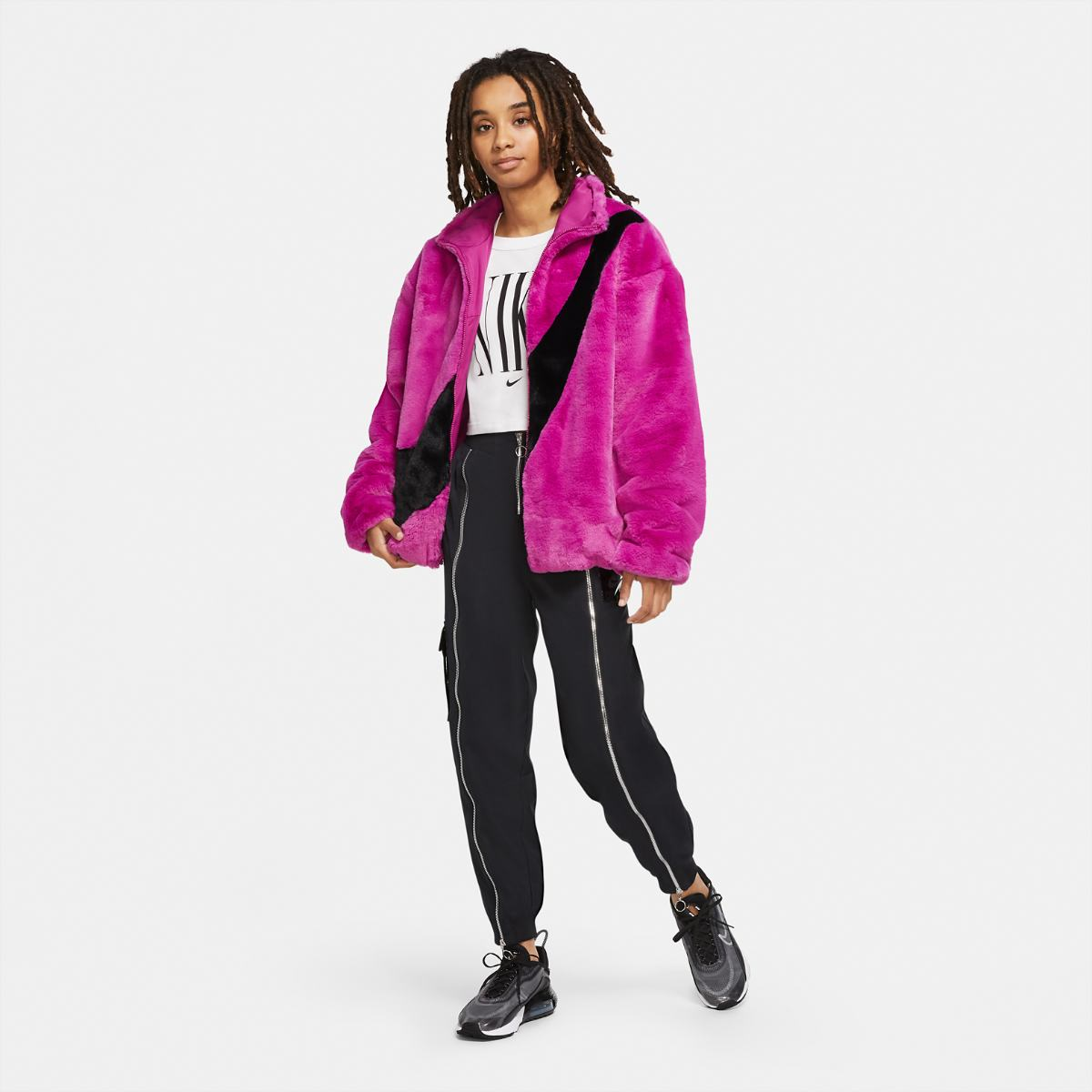 Куртка NIKE W NSW JKT FAUX FUR