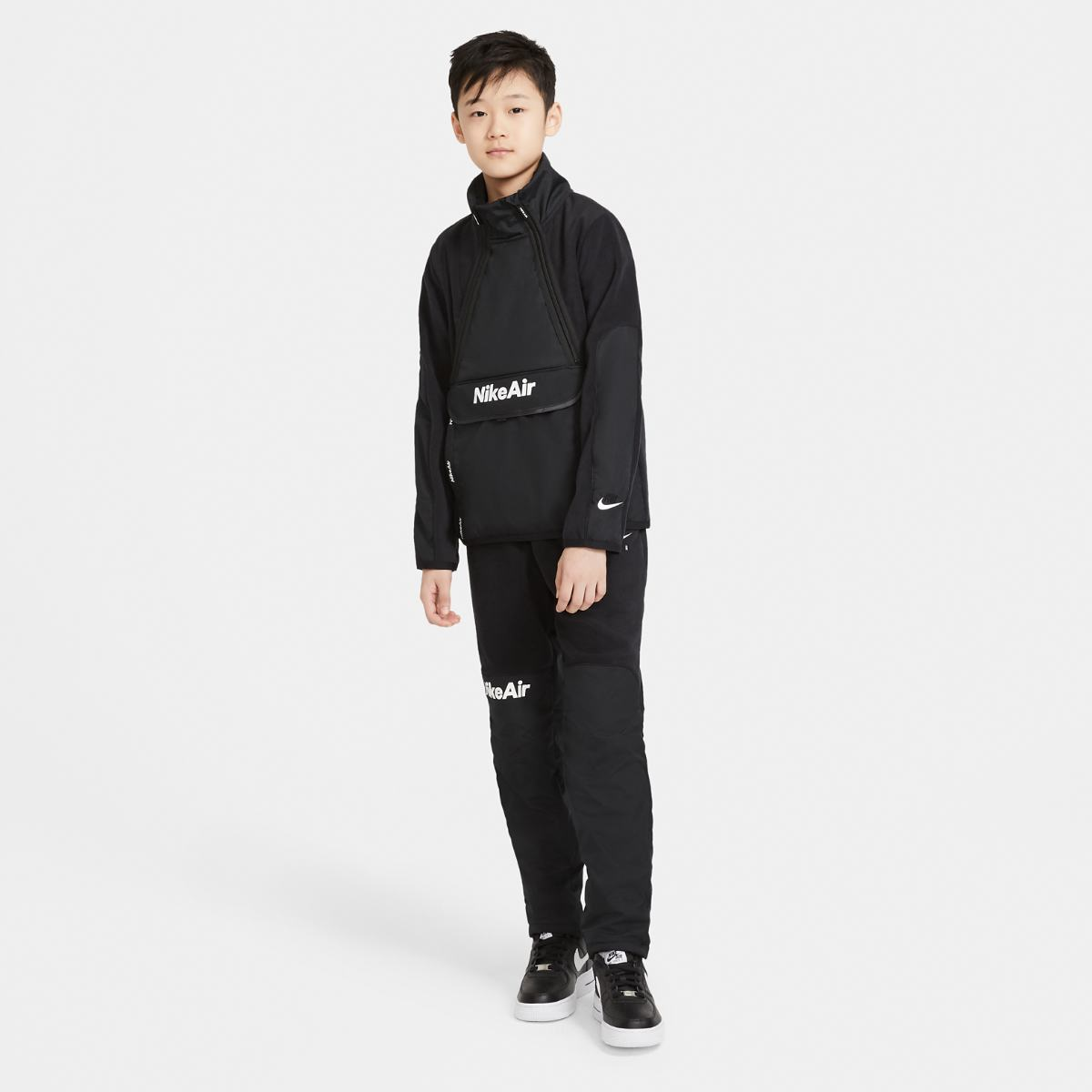 Толстовка NIKE B NSW REFLECTIVE WZ AIR TOP