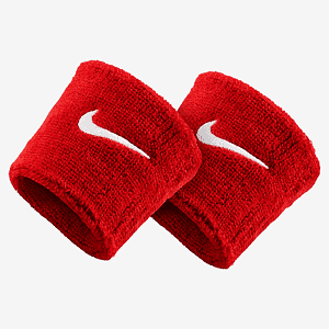 Напульсник Nike SWOOSH WRISTBANDS VARSITY RED/WHITE