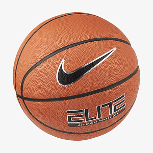 Мяч баскетбольный NIKE ELITE ALL-COURT AMBER/BLACK/METALLIC SILVER/BLACK 07