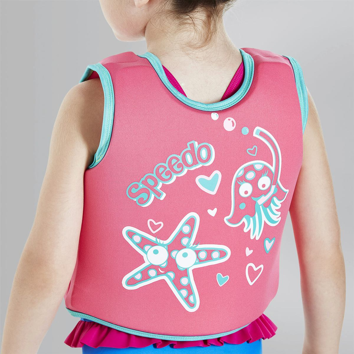 Жилет Speedo SEA SQUAD SWIM VEST IF PINK