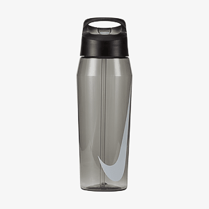 Бутылка NIKE TR HYPERCHARGE STRAW BOTTLE 32 OZ ANTHRACITE/ANTHRACITE/WHITE 32OZ