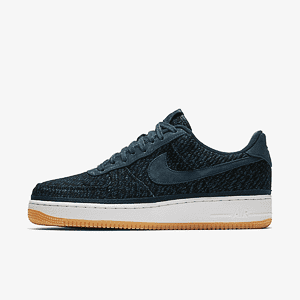 Кроссовки Nike AIR FORCE 1 07 INDIGO