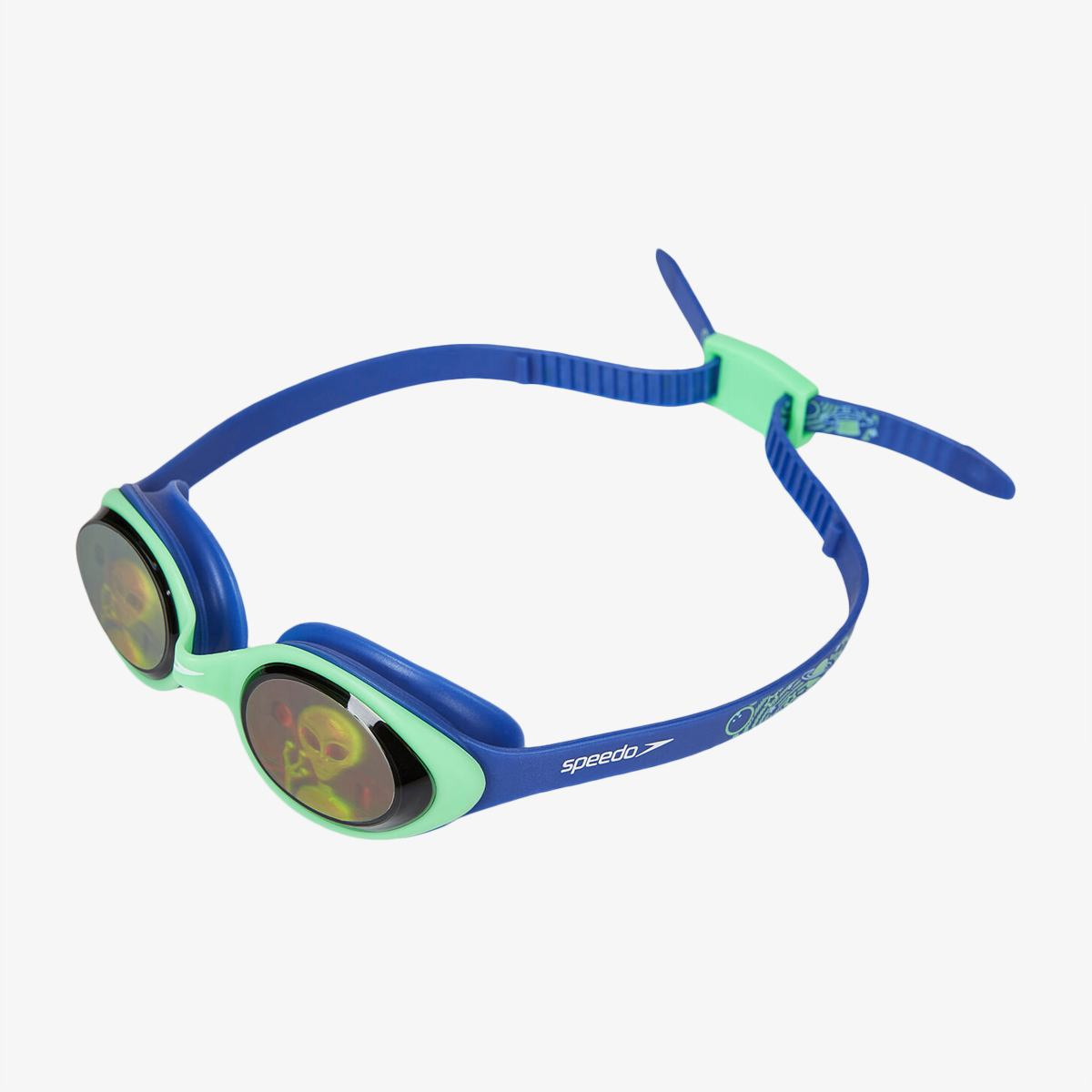Очки Speedo ILLUSION 3D PRT JU BLUE/GREEN
