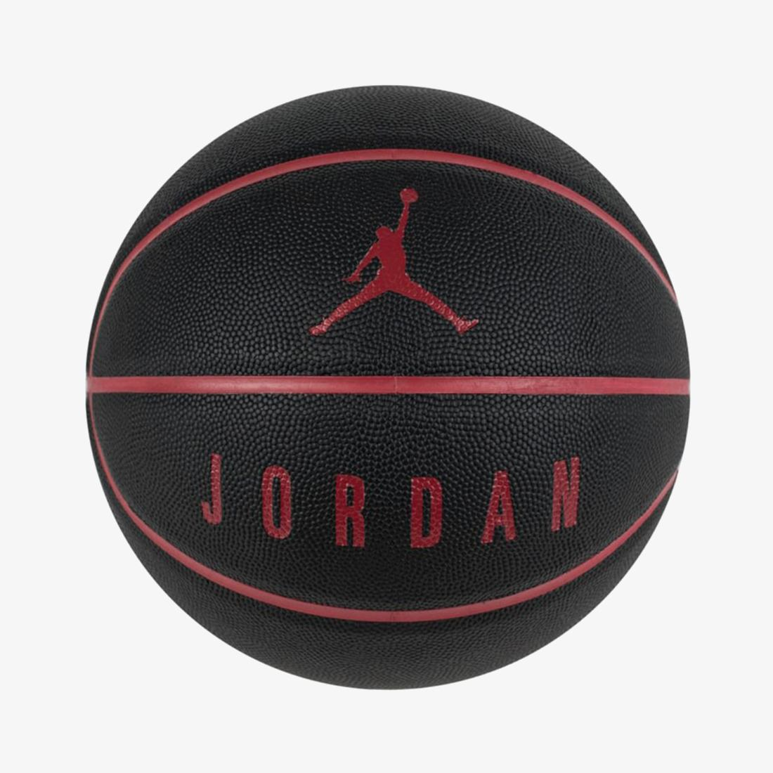 Мяч баскетбольный JORDAN ULTIMATE 8P BLACK/GYM RED/GYM RED 07
