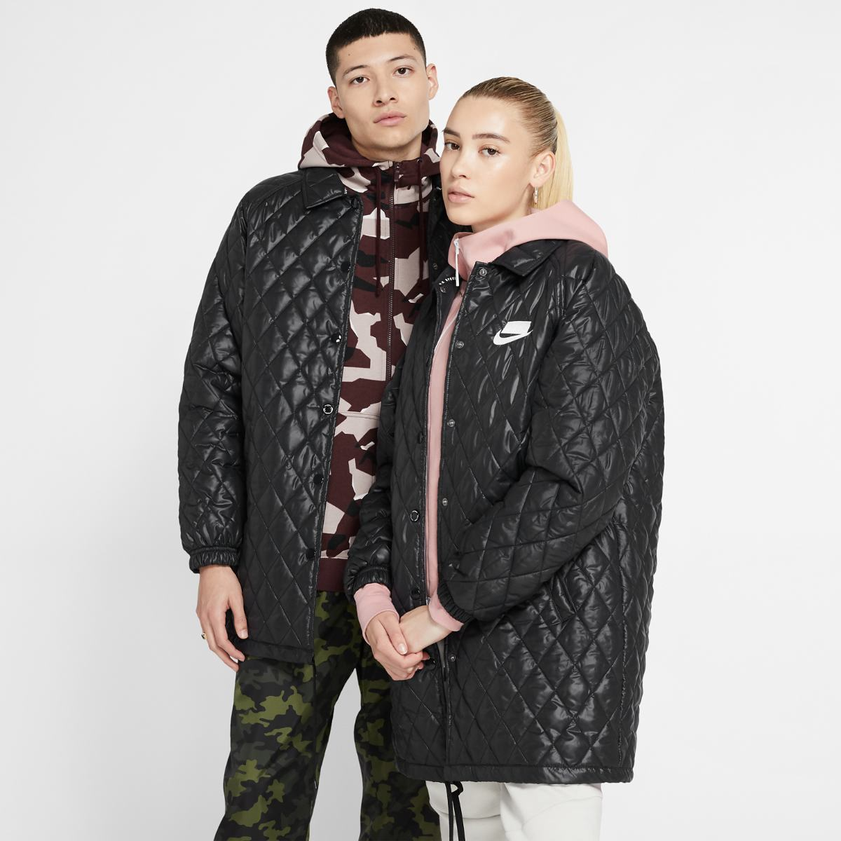 Куртка NIKE W NSW NSP JKT QUILTED