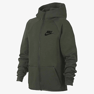 Толстовка Nike B NSW TCH FLC FZ ESSENTIALS