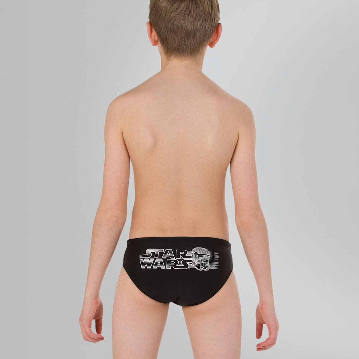 Плавки Speedo CONT WAISTBAND BRF JM BLACK/WHITE