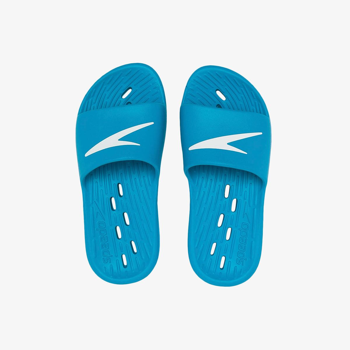 Тапочки Speedo SLIDES ONE PIECE JU BLUE/WHITE